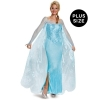 Frozen: Elsa Prestige Adult Costume Plus